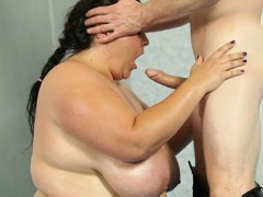 Euro BBWs in the ring Naked and oiled up BBWs fight in the ringvideo