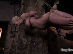 We catch Cherry at work in the boiler room and strip her out of her baggy work cloths.  It should be a crime to hide such a body.  Once stripped she is inverted & whipped till she whimpers & cries out in orgasm. Watch as she is made to cum over & over again as I stretch her out, flip her over & suspend her in a traditional artistic tie... For those of you who have wanted to see how I tie, this is the shoot to watch.video